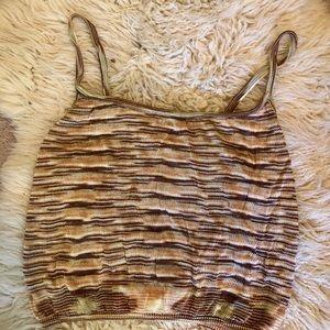 Vintage 90's Missoni Knit Top